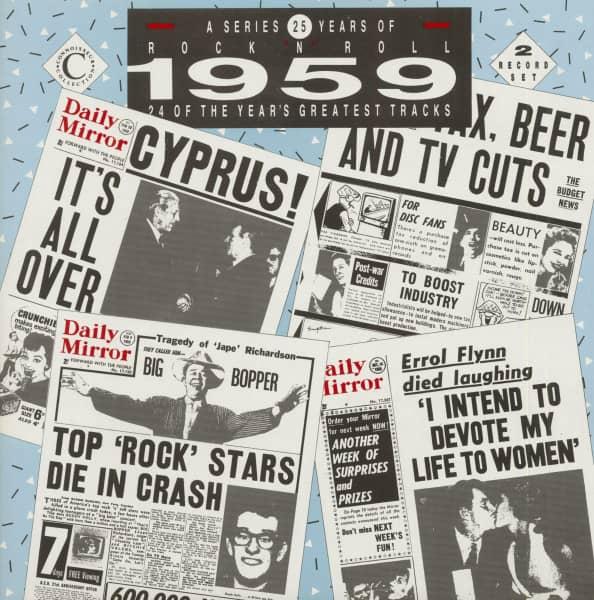 25 Years Of Rock 'N' Roll - 1959 (2-LP)