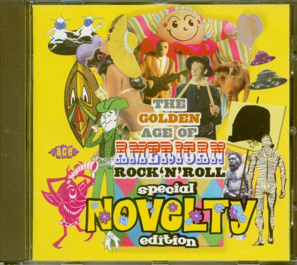 The Golden Age Of American Rock'n'Roll - Special Novelty Edition (CD)