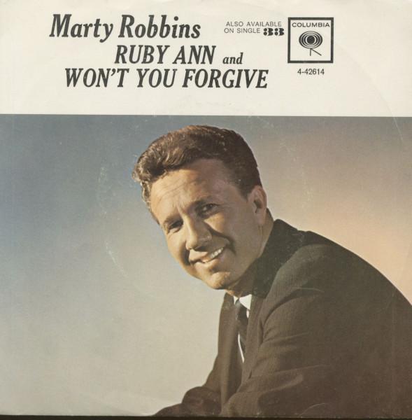 Ruby Ann - Won't You Forgive (7inch, 45rpm, PS)