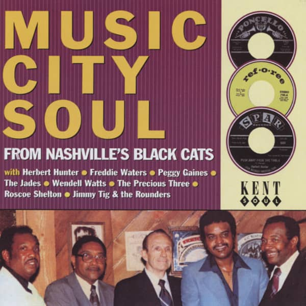 Music City Soul - From Nashville's Black Cats
