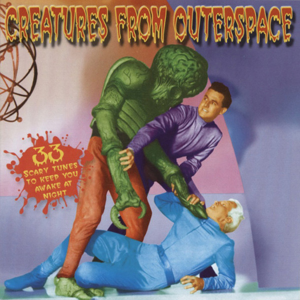 Creatures From Outerspace - Scary Tunes (CD)