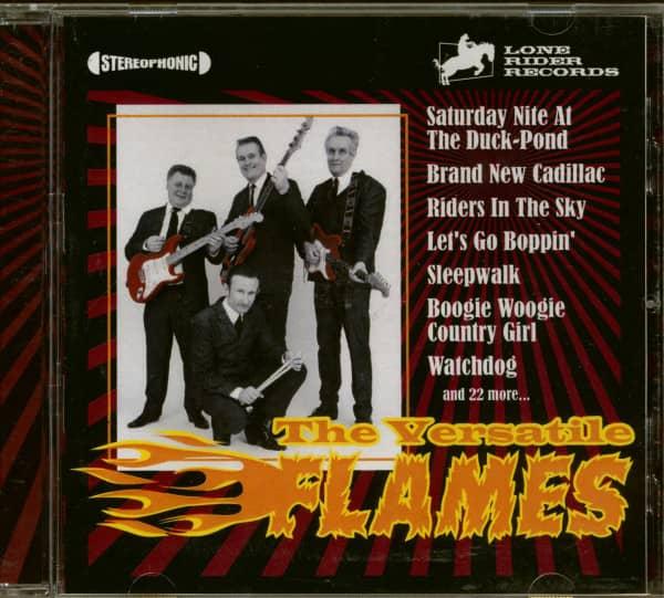 The Versatile Flames (CD)