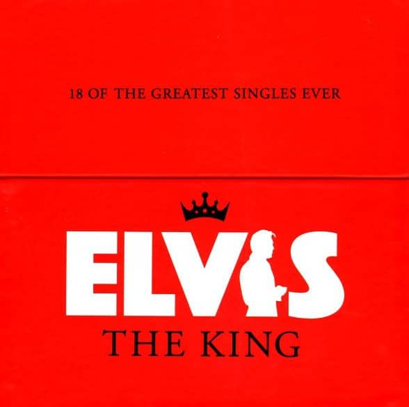 Elvis The King - 18 Of The Greatest Singles Ever (18x10inch Vinyl, 45rpm, CS, Ltd.)