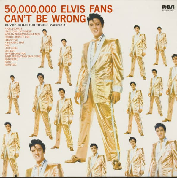 Elvis' Gold Records, Vol.2 (LP)