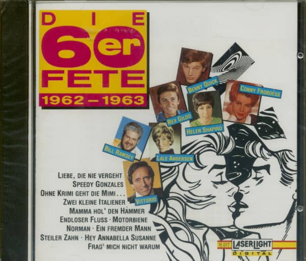 Die 60er Fete 1962-63 (CD)