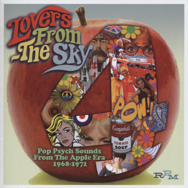 Lovers From The Sky - Pop Psych 1968-71