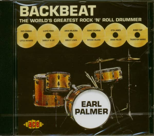 Backbeat - The World Greatest Rock'n'Roll Drummer (CD)