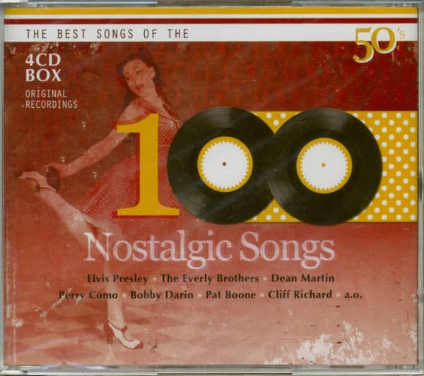 100 Nostalgic Songs (4-CD)