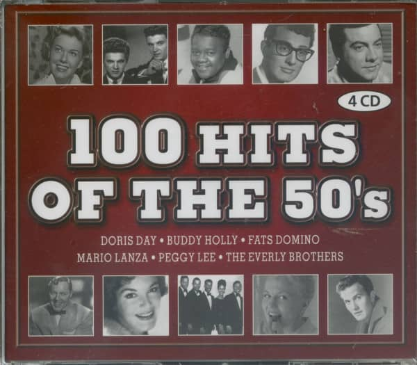 100 Hits Of The 50s (4-CD)