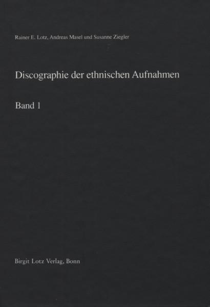 Ethnische Aufnahmen - Discographie - Rainer E. Lotz