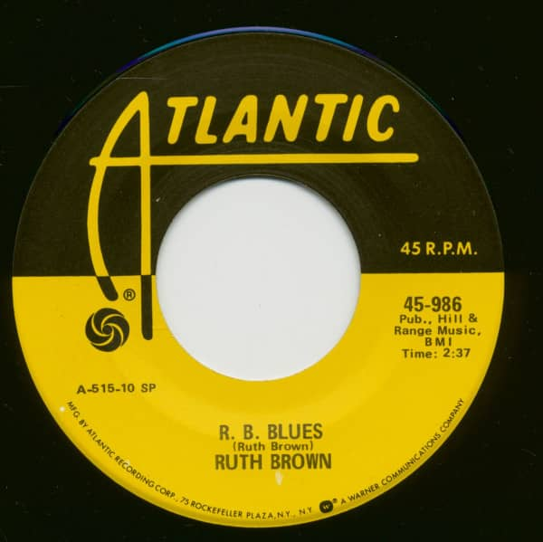 R. B. Blues - He Treats Your Daughter Mean (7inch, 45rpm)