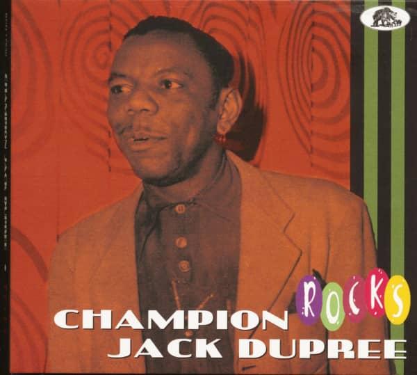 Champion Jack Dupree - Rocks (CD)
