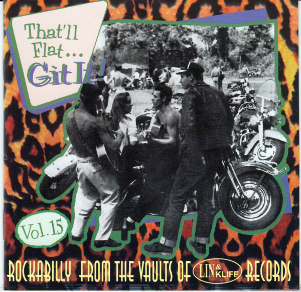 Vol.15 - Rockabilly From The Vaults Of Lin & Kliff Records (CD)