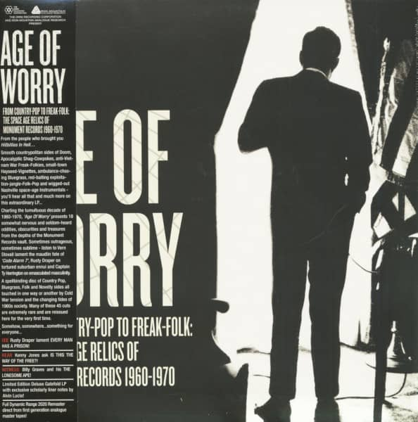 Age Of Worry - From Country-Pop To Freak-Folk - The Space Age Relics Of Monument Records 1960-1970 (