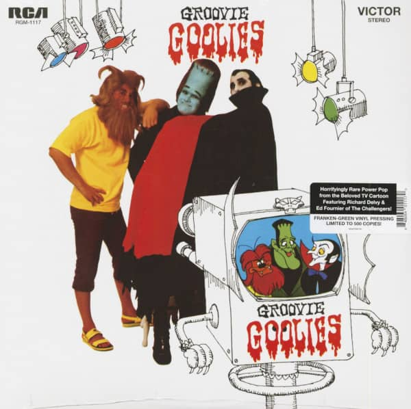 Groovie Goolies (LP, Colored Vinyl, Ltd.)