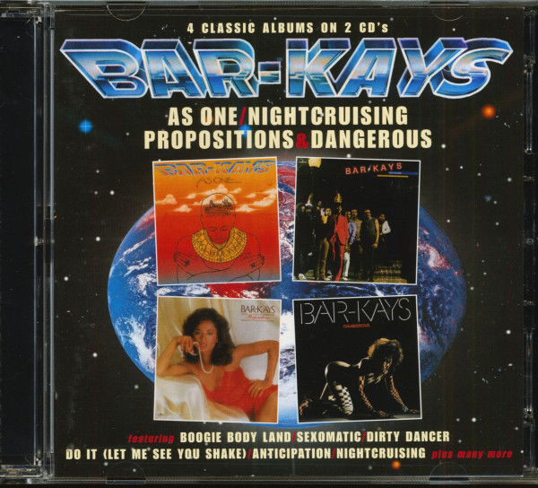 As One - Nightcruising - Propositions - Dangerous (2-CD)