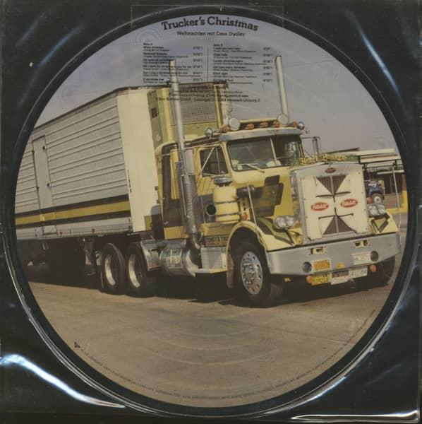 Trucker's Christmas - Weihnachten mit Dave Dudley - Picture LP (LP)