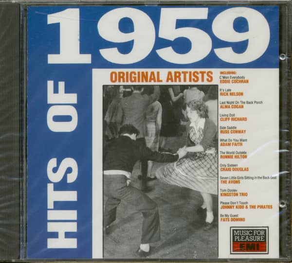 The Hits Of 1959 (CD)