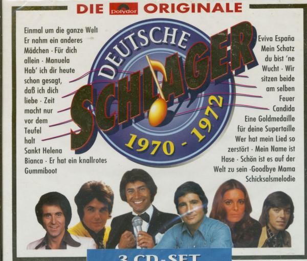 Deutsche Schlager 1970-1972 (3-CD)