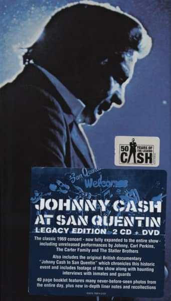 At San Quentin - (2-CD&DVD Legacy) US Longbox