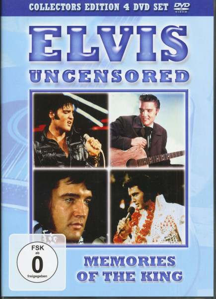 Elvis Uncensored (4-DVD)