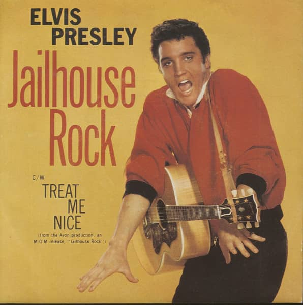 Jailhouse Rock - Treat me Nice (7inch, 45rpm, PS)