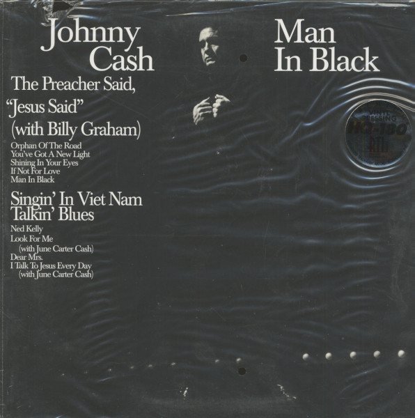 Man In Black (LP, 180g Vinyl, Ltd. Deluxe Edition)
