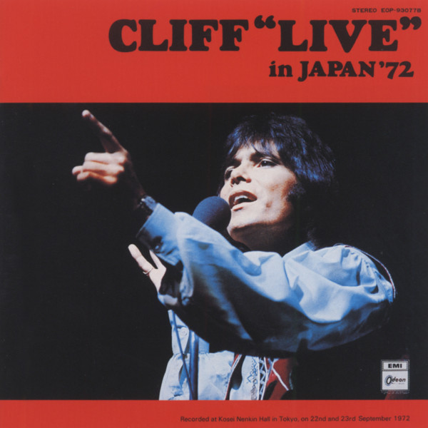 Cliff 'Live' In Japan'72