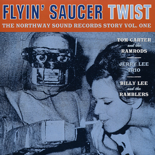 Flyin' Saucer Twist 7inch, 45rpm, EP, PS