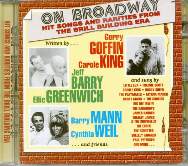 On Broadway - Hit Songs And Rarities From The Brill Building Era (2-CD)
