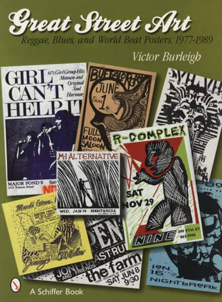 Great Street Art Poster 77-89 - Victor Burleigh: Reggae, Blues & World Beat