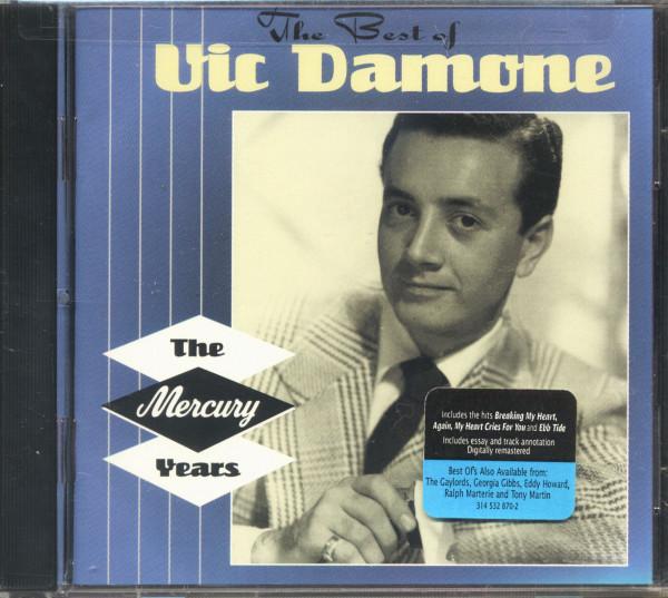 The Best Of Vic Damone - The Mercury Years (CD, US Version)