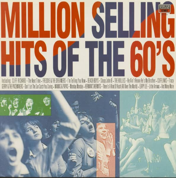 Million Selling Hits Of The 60's (LP)
