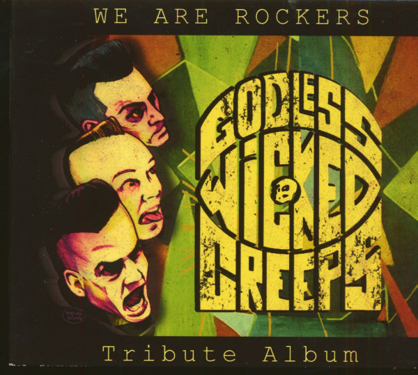 We Are Rockers - Godless Wicked Creeps Tribute (CD)