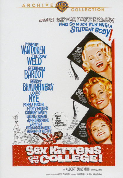 Sex Kittens Go To College! (1960) co-starring Conway Twitty (DVD)