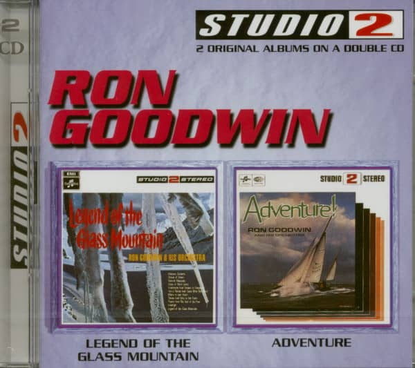 Legends Of The Glass Mountain - Adventure (2-CD)