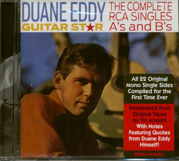 Guitar Star - The Complete RCA Singles A's and B's (CD)