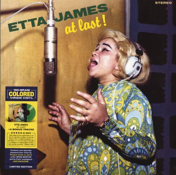 At Last! (LP, 180g Vinyl, Colored Vinyl, Ltd.)