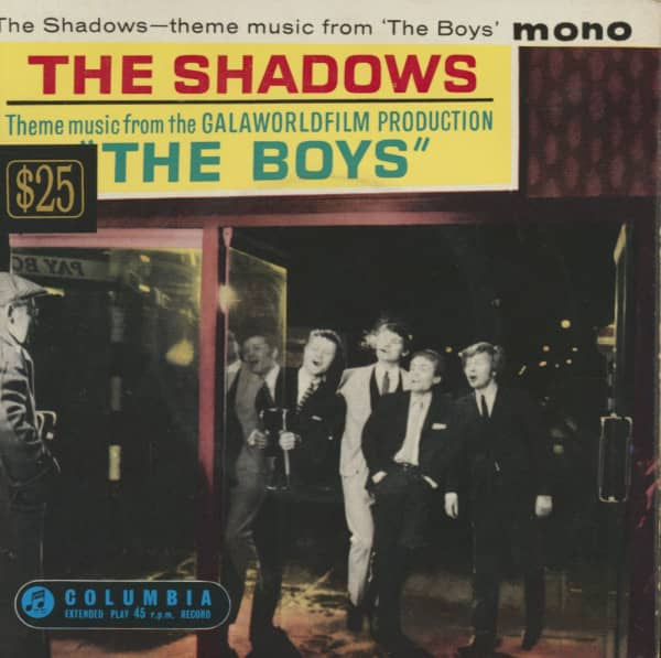 The Boys (7inch, 45rpm, EP, PS)