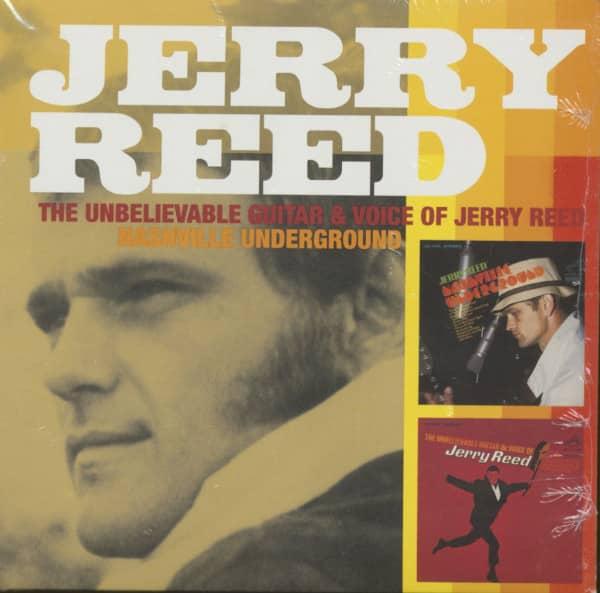 The Unbelievable Guitar And Voice - Nashville Underground (CD)