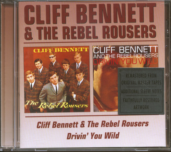 Cliff Bennett & The Rebel Rousers & Drivin' You Wild (CD)