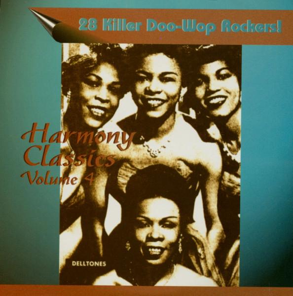 Harmony Classics Vol.4 - 28 Killer Doo-Wop Rockers! (CD)