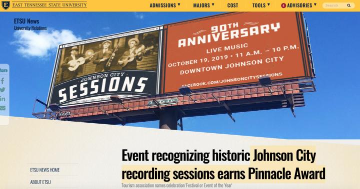 Johnson-City-recording-sessions-earns-Pinnacle-Award