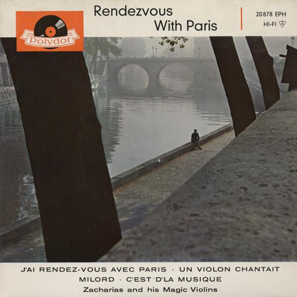 Rendevous With Paris 7inch, 45rpm, EP Bildhülle