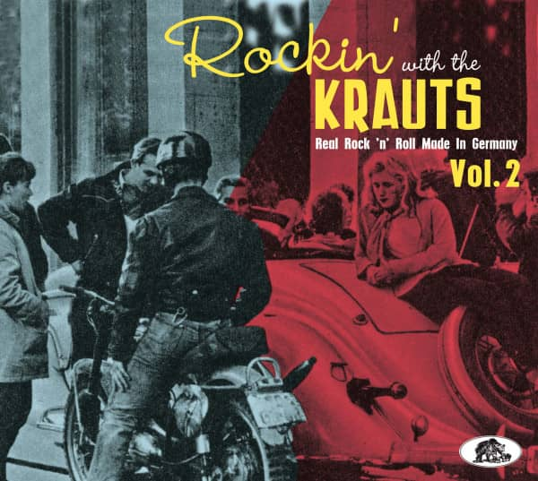 Rockin' With The Krauts - Real Rock 'n' Roll Made In Germany (CD), Vol. 2