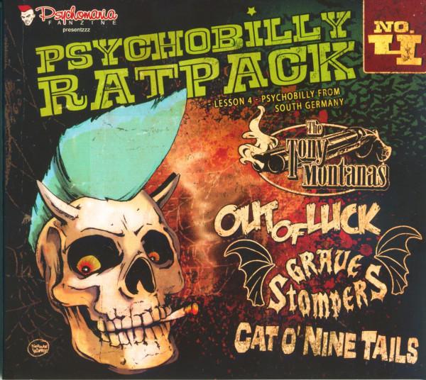 Psychobilly Rat Pack - Lesson 4 (CD Digipak)