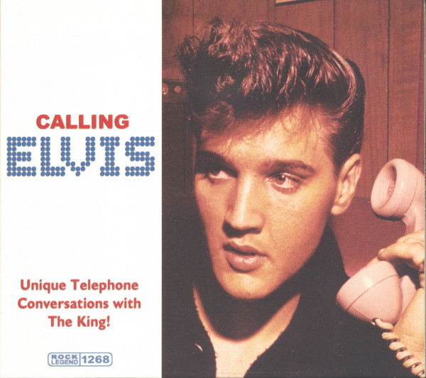 Calling Elvis- Unique Telephone Conversations With The King! (CD)