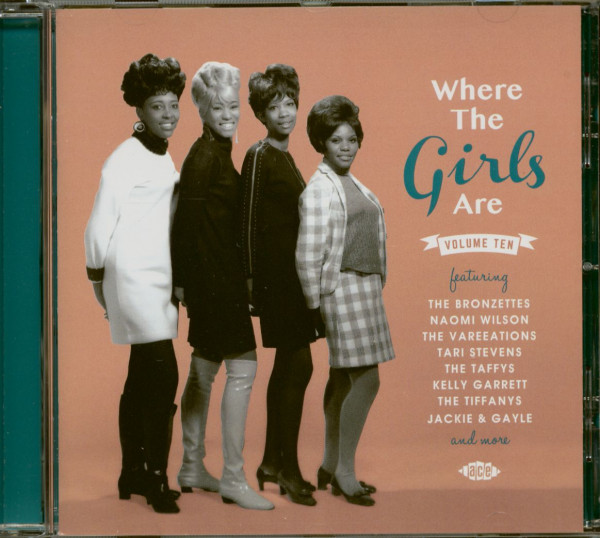 Where The Girls Are Vol.10 (CD)