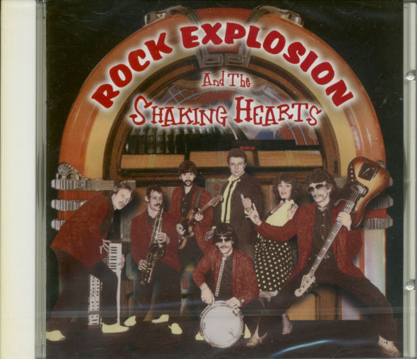 Rock Explosion & The Shaking Hearts (CD)