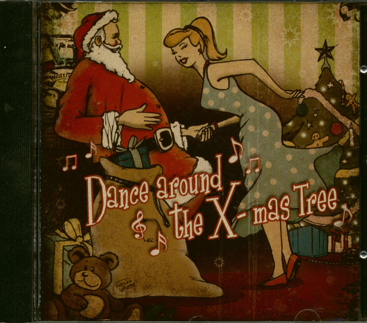 Various - Dance Around The X-mas Tree (CD)